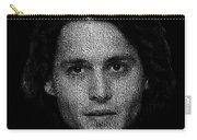 Johnny Depp Typography Carry-all Pouch