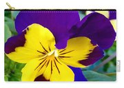Johnny Jump Up To Spring Carry-all Pouch