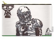 Johnny Manziel 11  Carry-all Pouch by Jeremiah Colley