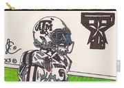 Johnny Manziel 13 Carry-all Pouch