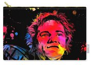 Johnny Rotten Paint Splatter Carry-all Pouch