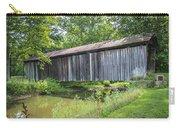 Johnson's Mill/salt Creek Covered Bridge  Carry-all Pouch