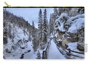 Johnston Canyon Winter Boardwalk Carry-all Pouch