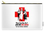 Join Our Red Cross Carry-all Pouch