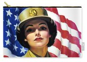 Join The Wac Now - World War Two Carry-all Pouch by War Is Hell Store