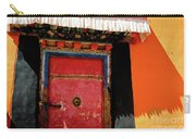 Jokhang Temple Door Lhasa  Tibet Artmif.lv Carry-all Pouch