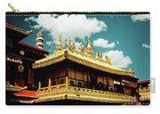 Jokhang Temple Fragment  Lhasa Tibet Artmif.lv Carry-all Pouch