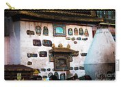 Jokhang Temple Wall Lhasa Tibet Artmif.lv Carry-all Pouch