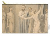Joseph And Potiphar's Wife Carry-all Pouch