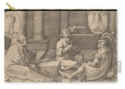 Joseph Interprets The Dreams In Prison Carry-all Pouch