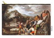 Joseph Sold By His Brothers Carry-all Pouch