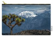Joshua Tree At Keys View In Joshua Park National Park Carry-all Pouch