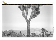Joshua Tree Before Storm Carry-all Pouch
