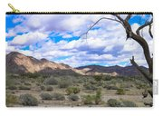 Joshua Tree National Park Landscape Carry-all Pouch