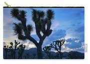 Joshua Tree Sunset Skies Carry-all Pouch