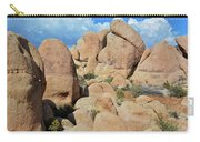 Joshua Tree White Tank Boulders Carry-all Pouch