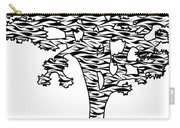 Joshua Tree Zebra Stripes Carry-all Pouch