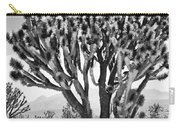 Joshua Trees Bw Carry-all Pouch