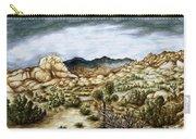 California Desert Landscape - Watercolor Art Carry-all Pouch