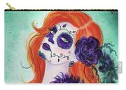 Joslyn Day Of The Dead Art Carry-all Pouch