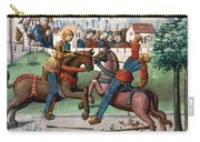 Jousting Knights, 1499 Carry-all Pouch