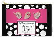 Joy - Bw Graphic Carry-all Pouch