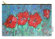 Joy Of Poppies Carry-all Pouch