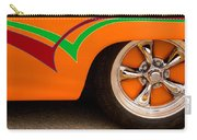 Joy Ride - Street Rod In Orange, Red, And Green Carry-all Pouch