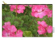 Joyful Geranium  Carry-all Pouch