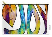 Joyful Occasions Abstract Inspirational Art By Omaste Witkowski Carry-all Pouch