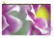 Joyful Sisters. Gentle Floral Macro Carry-all Pouch