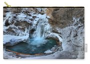 Johnston Canyon Winter Delight Carry-all Pouch