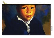 Juanita Also Known As Little Half Breed 1917 Carry-all Pouch