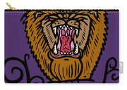 Judah The Real Lion King Carry-all Pouch
