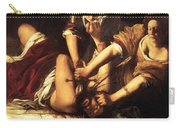 Judith Beheading Holofernes 1620 Carry-all Pouch