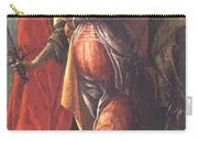 Judith Leaving The Tent Of Holofernes 1500 Carry-all Pouch