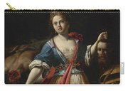Judith With The Head Of Holofernes 2 Carry-all Pouch