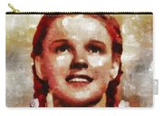 Judy Garland, Vintage Actress By Mb Carry-all Pouch