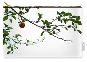 Juicy   A Tempting Photograph Of A Tasty Ripe Red Apple On A Tree  Carry-all Pouch