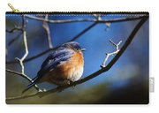 Juicy Male Eastern Bluebird Carry-all Pouch