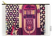Juke Box Polaroid Transfer Carry-all Pouch