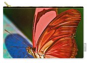 Julia Heliconian Butterfly In Iguazu Falls National Park-brazil Carry-all Pouch
