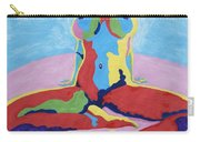 Julie Anderson Leaning Back Carry-all Pouch