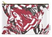 Julio Jones Atlanta Falcons Pixel Art 11 Carry-all Pouch
