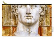 Julius Caesar At Vatican Museums 2 Carry-all Pouch by Stefano Senise