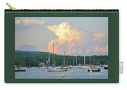 July Sky Over A Maine Harbor Carry-all Pouch