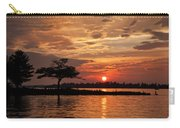 July Summer Sunset At Detroit Point Carry-all Pouch