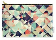 Jumble Of Colors And Texture Carry-all Pouch