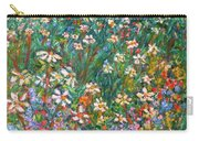 Jumbled Up Wildflowers Carry-all Pouch