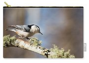 Jump - White-breasted Nuthatch Carry-all Pouch